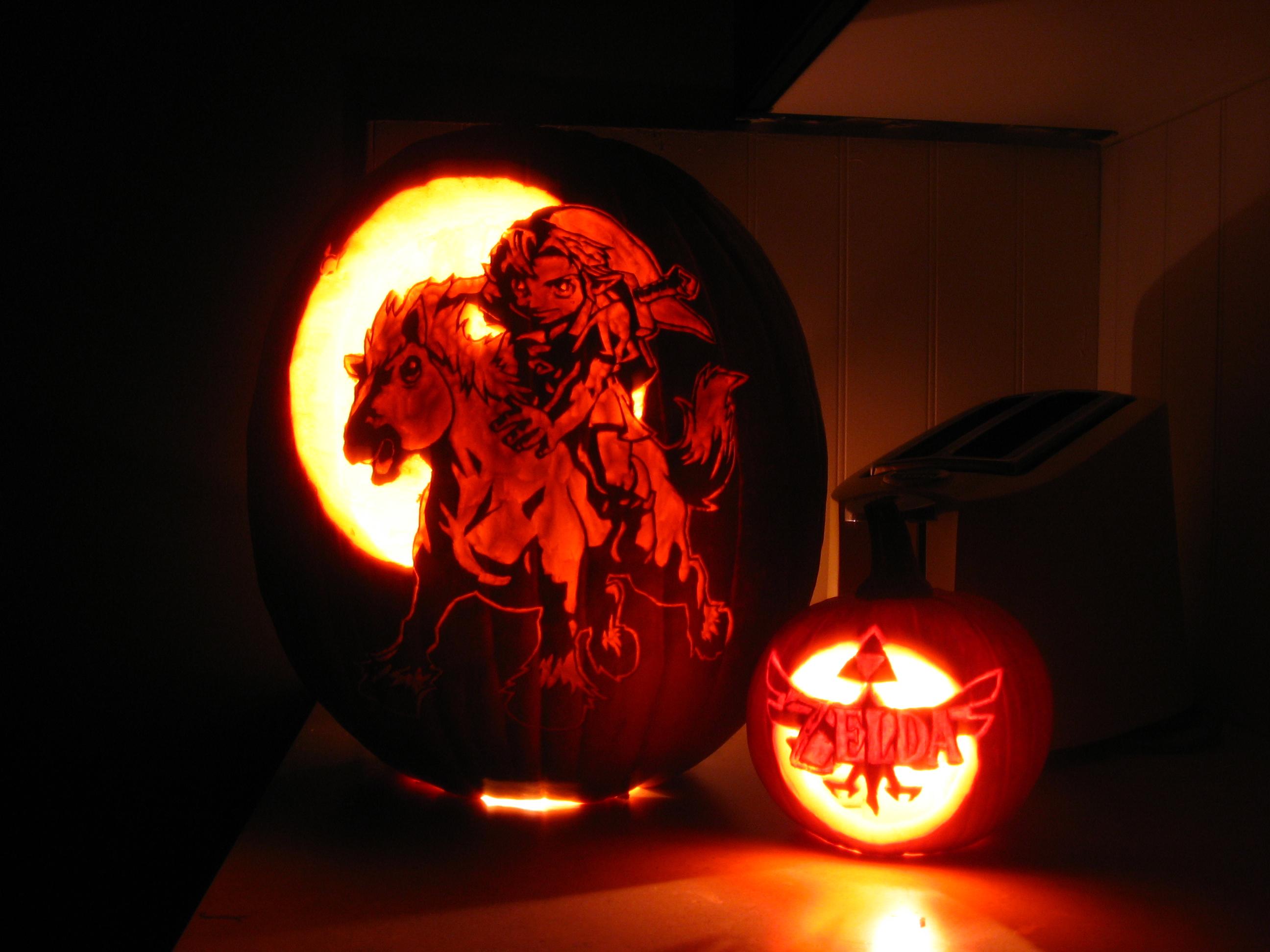 The legend of zelda smith pumpkin carver